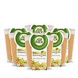 Air Wick Wohlfühl-Duftkerze Anti-Tabak – Duft: orange – Enthält natürliche ätherische Öle...