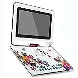 YICHEN 24 '' tragbarer DVD-Player, DVD-Player für Kinder/Ältere, mit schwenkbarem Bildschirm...
