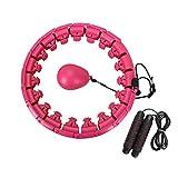 MOPOIN Hula Hoop, Smart Hoola Hoop Reifen Fitness mit Massagenoppen, Einstellbar & Nicht Tropfen...