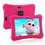 Pritom 7 Zoll Kindertablet, Quad Core Android, 1 GB RAM + 16 GB ROM, WiFi, Bluetooth, Dual Camera,...