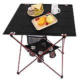MOVTOTOP Klapptisch Campingtisch 73 * 55 * 53cm Multifunktionstisch Tragbar klappbar Camping Tisch...