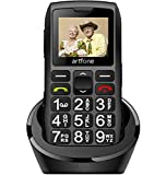 artfone Seniorenhandy ohne Vertrag | Dual SIM Handy mit Notruftaste | Rentner Handy große Tasten |...