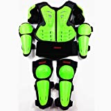 1-1 Kinder Protektoren Set,Kinder Protektoren Schutzset,Kinder Brustpanzer Motorrad Weste Racing...