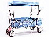 Starkwerk faltbarer Bollerwagen SW 750 Blau