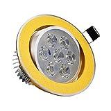 LED Downlight Epistar Hochleistungs-Deckenleuchte 7W 5W 3W Warmweiß/Kaltweiß Einbaustrahler AC110V...
