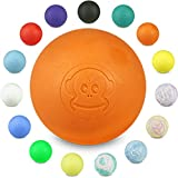 Captain LAX Massageball Original - Lacrosseball, Hartgummi, mit den Maßen 6 x 6 cm geeignet für...