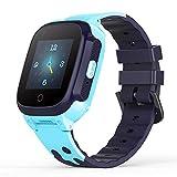 YONTEX 4G Kinder Smartwatch Wasserdicht IPX7, unterstützt 4G Präzise Positionierung Tracker, mit...