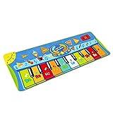 CUHAWUDBA Tanzmatte, Kinder Musikmatte, Klaviermatte mit 8 Instrumenten, Klaviertastatur Musik...