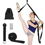 MaoXinTek Yoga-Gurt Beinstrecker Stretch-Band, Stretching Fitnessbänder Equipment für Tanzen,...