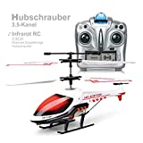 MKZDGM RC Hubschrauber, Ferngesteuertes Spielzeug, 3.5CH Hubschrauber,Eingebautes Gyroskop und...