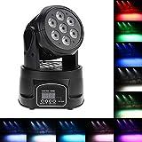 Docooler RGBW 4in1 LED Stadiums Effekt/Bewegliches Hauptlicht, Wash Beleuchtung, DMX512 9/14 Kanal...