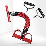 TmDo Sit-Up-Trage, Dünne Geräte Für Die Heimfitness Im Büro, Dreifacher Kordelzug Zum Rollen des...