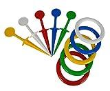 Simba 107212828 Ringwurfspiel-107212828 Ringwurfspiel, Mehrfarbig
