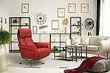 Scandico TV-Sessel Sessel Finn / Drehbarer Relax-Sessel mit stufenloser Rückenverstellung und...