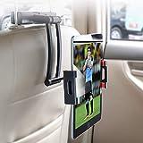 YONTEX Tablet Halterung Auto Kopfstützenhalterung, Verstellbare KFZ-Kopfstützen Halterung,...