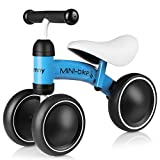 Bamny Baby Laufrad Kinder Laufräder Lauflernrad Balance Bike mit 3 Räder, Rutschrad Fahrrad Baby...