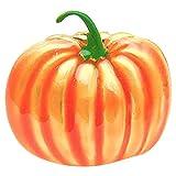 YARNOW Halloween Serviettenringe Orange Kürbis Deko Serviettenhalter Vintage Metall Stoffservietten...