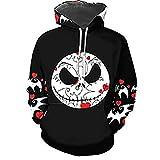 Zaima Männer Frauen Hoodies Clown 3D Print Sweatshirts Casual Hoodie Coole Pullover Hoody Halloween...