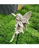 Bornhöft Blütenfee Flora Rosenkugel Gartenfigur Gartenstecker Dekoration Garten Deko