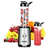 Mixer Smoothie Maker, SCIJOY Standmixer, 350W Mini Shake Maker, Multifunktion Smoothiemaker (23000...