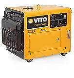 VITO Professional ATS 5KVA 9PS Silent Leise Diesel Stromerzeuger 4000W 230V 72db LWA...