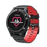 WEHOLY Smawristband: Bluetooth wasserdichte HeaRate Monitor Blutdruckmessung Touch Screen...