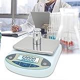 Labor Analytische Waage, 5000 g 0,01 g Hochpräzise, Schnelles und Genaues Ablesen Digitale...