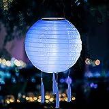 Lampions Solar Außen,Solar Outdoor Lichterkette,Solar LED Lampion Party Garten Laterne Rund...