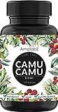 Camu-Camu Kapseln - Natürliches Vitamin C - 180 vegane Kapseln für 6 Monate - hergestellt und...