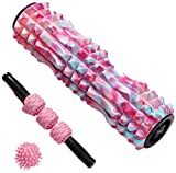 Fitness Foam Roller Schaumstoffrolle Für Muskelmassage 2-In-1-Muskel-Foam Roller Rumble Set Zum...