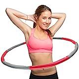 swingfit® Hula Hoop Reifen inkl. Tasche & Anleitung I Hoola Hup Reifen für Kinder & Erwachsene I...