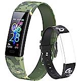 Dwfit Fitness Armband Kinder,Fitness Tracker mit Pulsmesser Fitness Uhr Kinder Aktivitätstracker...