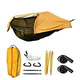 Einzel leichte Camping Hngematte,Defense Mosquito Insect Water Proof und Wind Proof Sunshade,Camping...