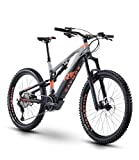 RAYMON Trailray E-Seven 10.0 27.5'' Pedelec E-Bike MTB grau/orange 2020: Größe: 52 cm