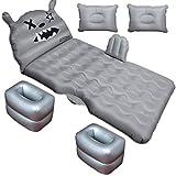 YHDD Auto aufblasbares Bett Auto Aufblasbares Bett Hintere Reihe Reisebett Schlaf Artifact Auto Rear...
