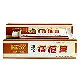 Hämorrhoiden-Salbe, 25g Hua Tuo Hämorrhoiden-Salbe Natural Plant Herbal Powerful Hemorrhoids Cream