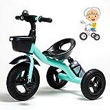 Tricycle 1-jährige Reit Spielzeug Kinddreirad Big Kid Kinderwagen Trike Junge Mädchen Dreirad...
