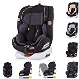 Chipolino, Kindersitz Journey, Gruppe 0+/1/2/3 (0-36 kg), Isofix, Top Tether, Farbe:dunkelgrau