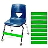 JeVenis Stretch-Fußbänder, Naturlatex, für Stuhl, Fidget-Bänder, Workout, Autismus, sensorische...