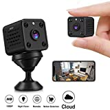 Mini-Kamera - Cloud-WLAN 720P HD Wireless-WLAN-Kamera Nachtversion Home Security DVD-Kamera...