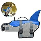 COVVY Hunde-Schwimmwesten für Haustiere, Schwimmweste, Hai, Schwimmweste, Welpen-Badeanzug,...