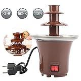 Schokoladenbrunnen | Schokoladenfondue,Kleiner Wasserfall mini schokobrunnen,Geeignet für kleine...