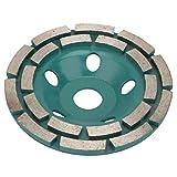 HYY-YY Schneidsäge, 125 x 22,2 x 8 mm, Diamant-Segmentschleifscheibe, Trennscheibe für Beton,...