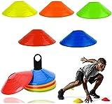 Amini Markierungshütchen Sport Hütchen Set Hütchen Fussball Markierungsteller für das Hütchen...