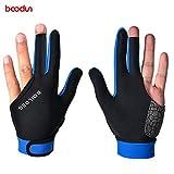 Schutzhandschuhe für Snooker, Linke Hand, Billard, Pool-Handschuhe, 3 Finger, Zubehör, bequem,...