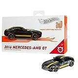 Hot Wheels iD FXB15 - Die-Cast Fahrzeug 1:64 2016 Mercedes AMG GT mit NFC-Chip zum Scannen in der...
