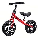 HYDL Kinder Laufrad 12 Zoll, Kinderlaufrad Sattel höhenverstellbar, Lenker 360°, Lauflernrad für...