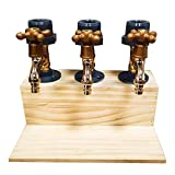 Whiskey Dispenser, Wooden Flaschenhalter und Dosierer Wasserhahn Form Getränkespender...
