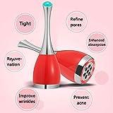 JJIIEE Mini elektrischer vibrierend Face Lift Gert, magnetische Massage, Gesichtsbehandlung...