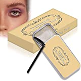 Eyebrow Shaping Soap, 3D Augenbrauen Make-up Gel, Augenbrauen Styling Seife, mit Pinsel...
